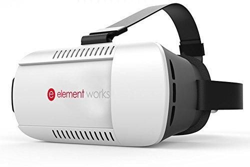 292fedf1504b Virtual Reality Headset by Element Works - Fully Adjustable 3D VR Glasses  For VR Headset Video