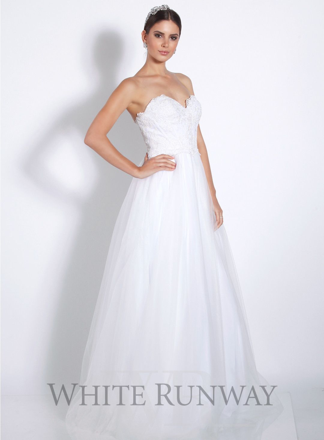 Cynthia dress a beautiful gown by jadore a strapless style
