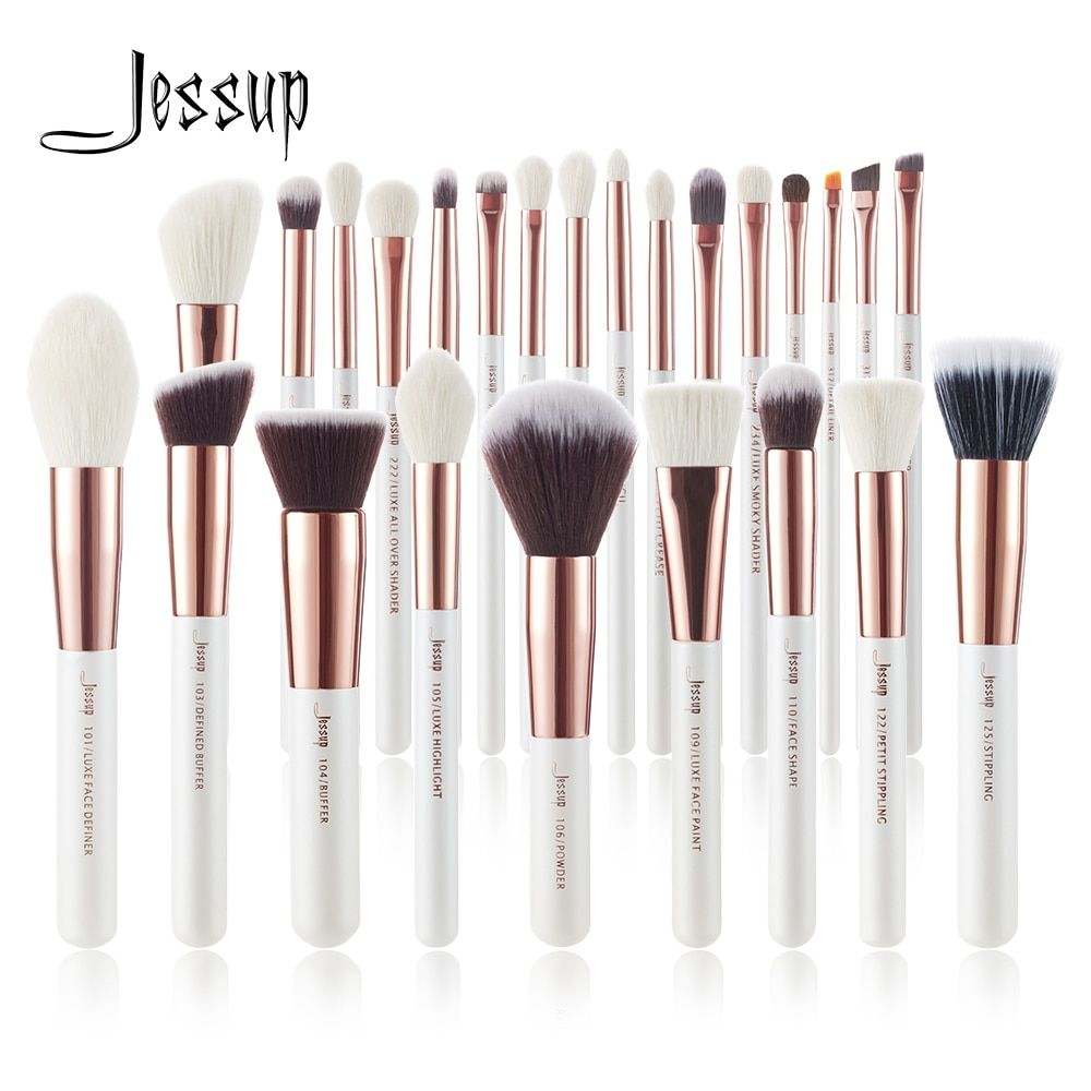 Rose Gold Hair Rose Gold Makeup Brushes Makeup Brush Set Makeup Brush Set Professional