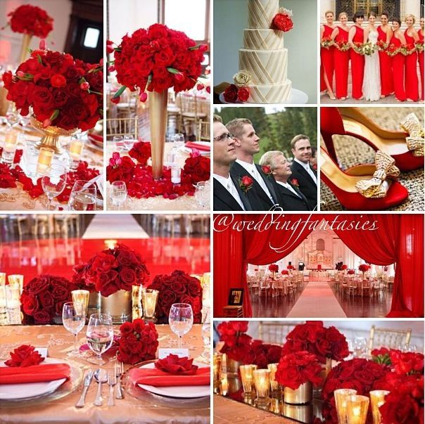 Wedding Red And White Theme: Red And Ivory Wedding Theme - Google Search