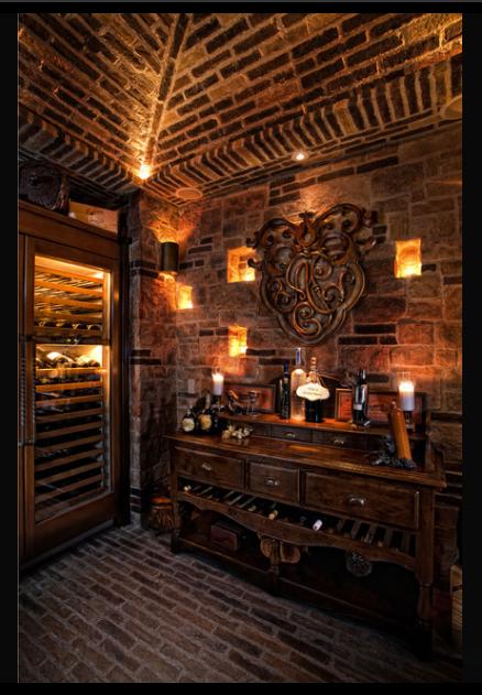 Bar Table Decor Idea Speakeasy Wine Home Wine Cellars