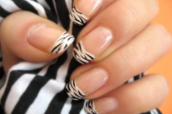38 Animal Print Nail Art Designs Zebra Print Nail Patterns And