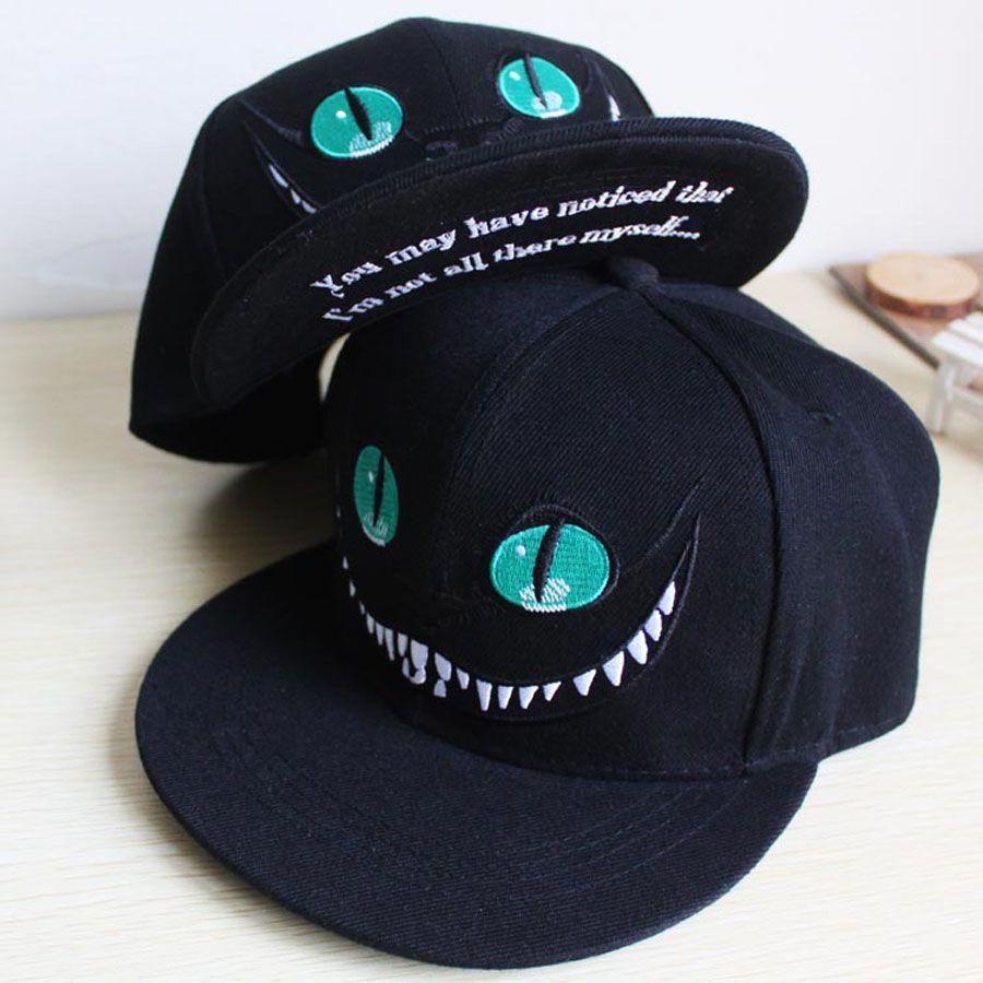 Cat Cartoon Baseball Caps Hats for Men and Women Snapback Hip Hop Hat Cap