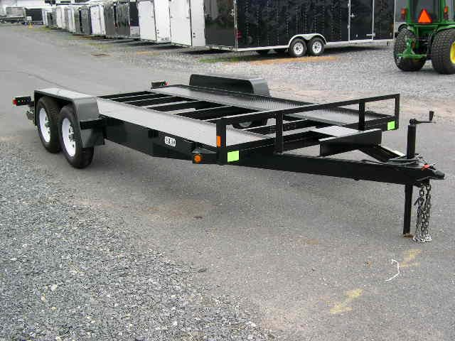 How To Build A Flat Deck Trailer Google Search Trailers
