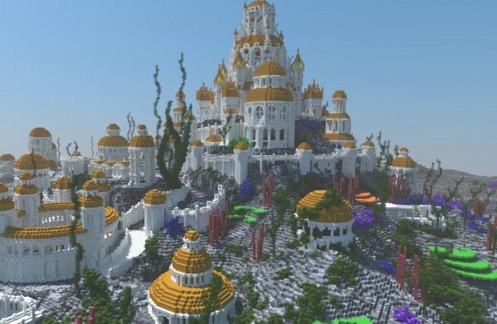 Atlantis Resort Minecraft Paridise Island