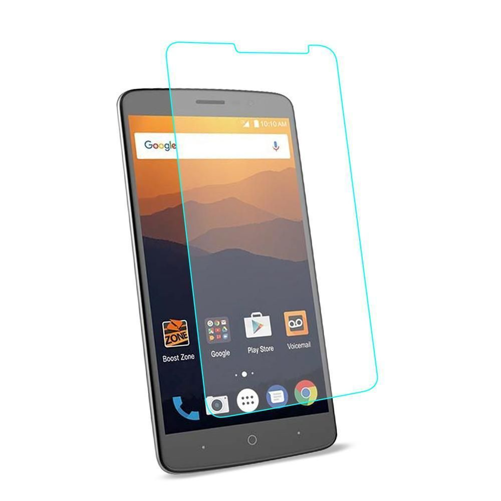 REIKO ZTE MAX XL- N9560 TEMPERED GLASS SCREEN PROTECTOR IN CLEAR