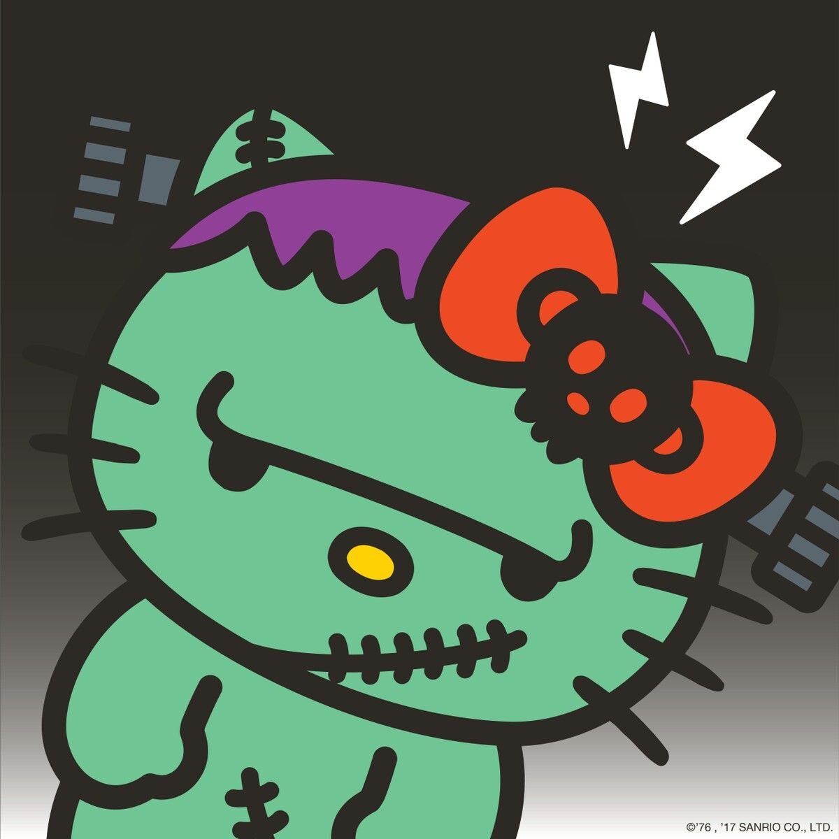 Hello Kitty Frankenstein Source Hellokitty Twitter C Sanrio Hello Kitty Hello Kitty Wallpaper Hello Kitty Images