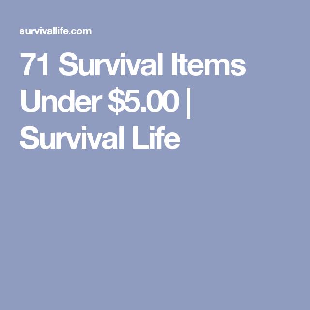 71 Survival Items Under $5.00 | Survival Life