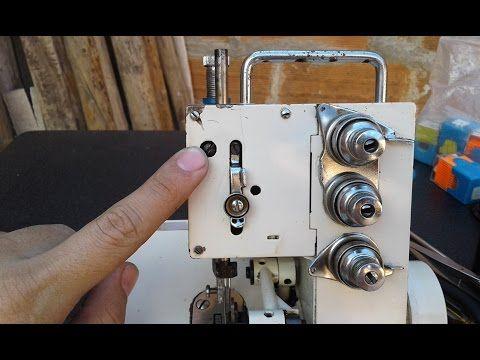 Ajuste De Barra De Aguja De La Overlock Casera Youtube Maquina Overlock Costura Passo A Passo Dicas De Costura