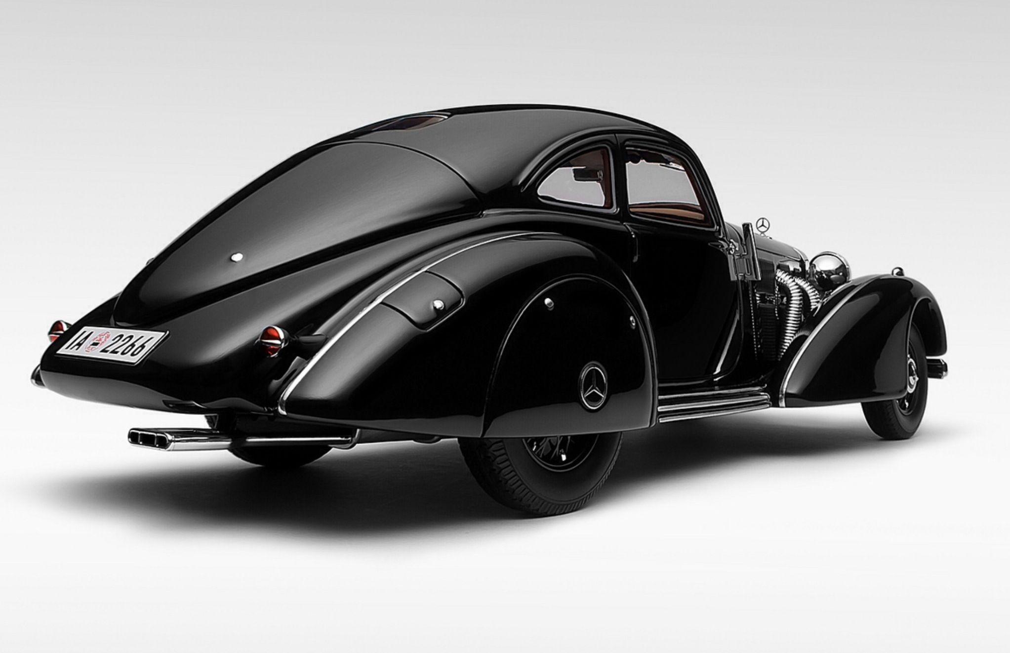 1934 Mercedes-Benz 540K Autobahn Kuner Coupe | \'30s Coupes ...