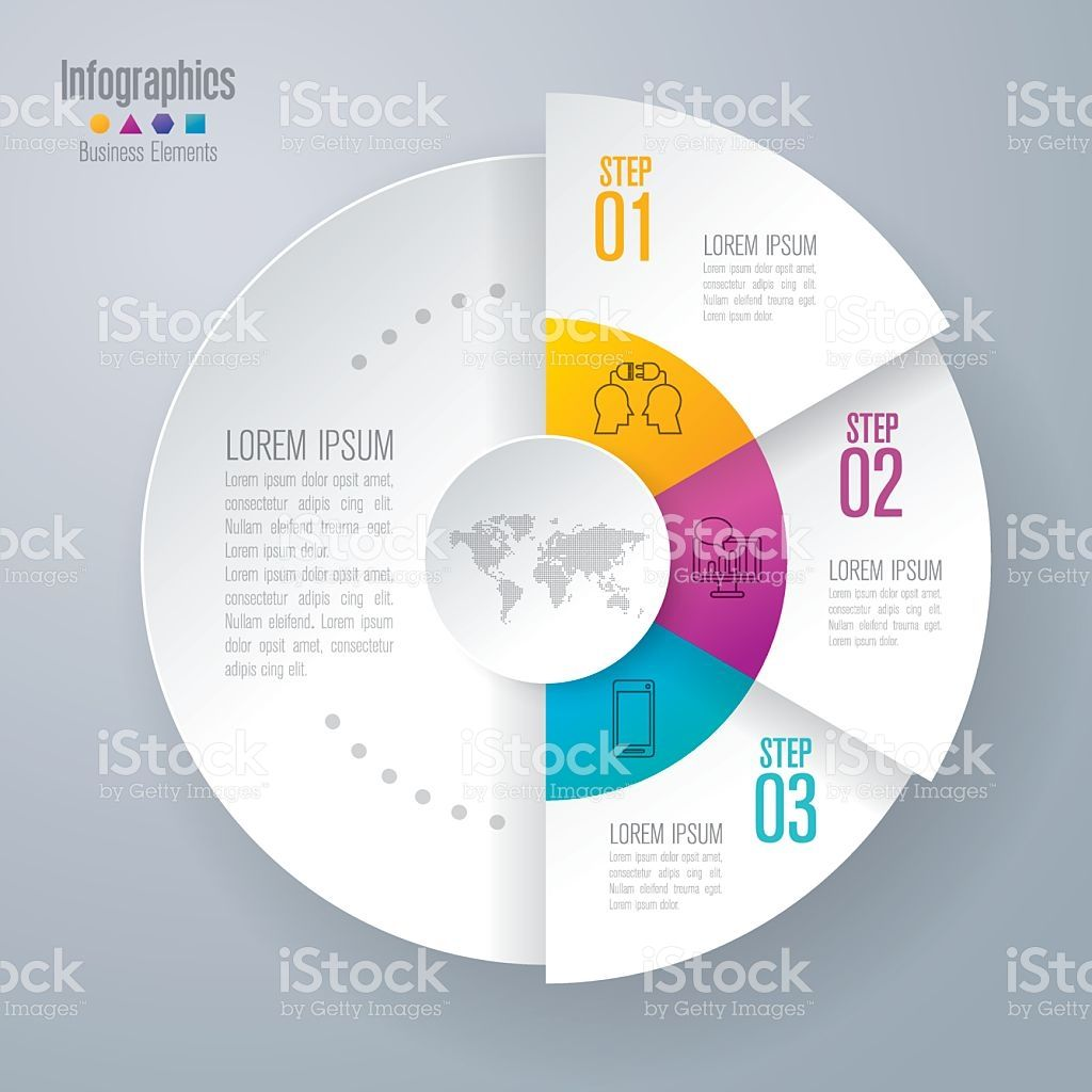 Infographic design template and business icons. royalty-free stock vector art $9