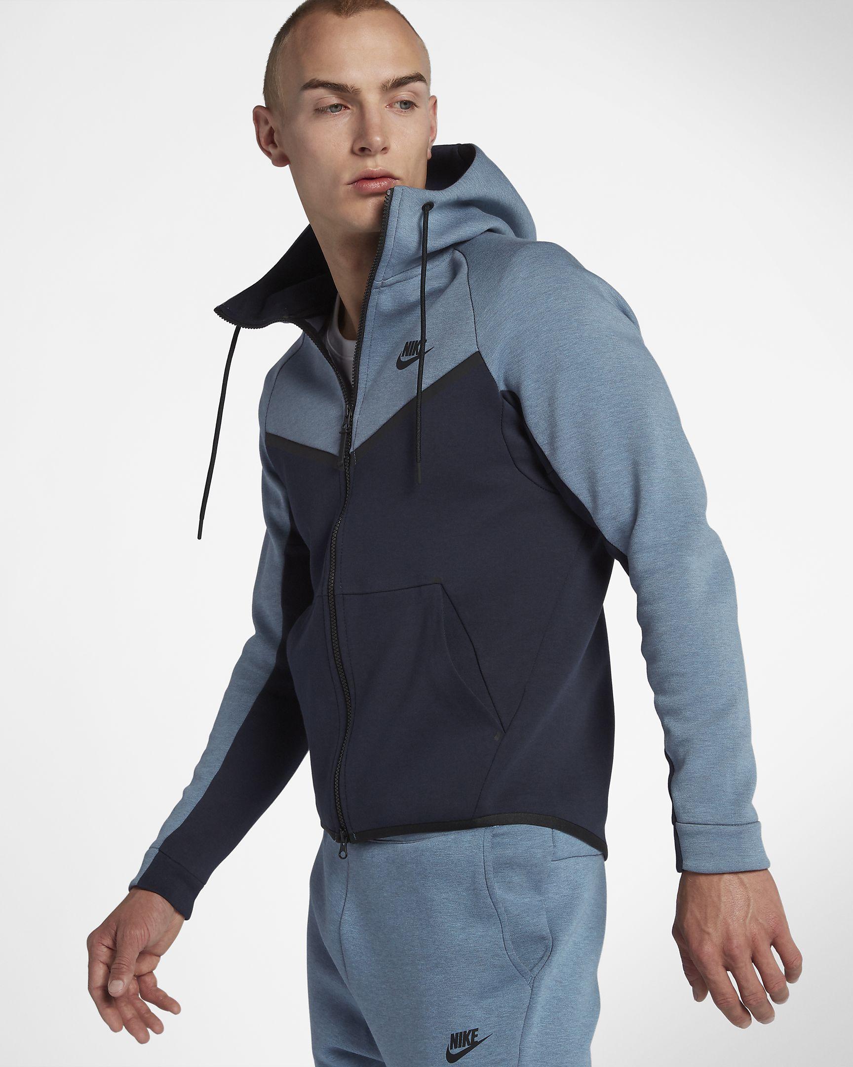 Nike Sportswear Tech Fleece Windrunner Hoodie met rits voor