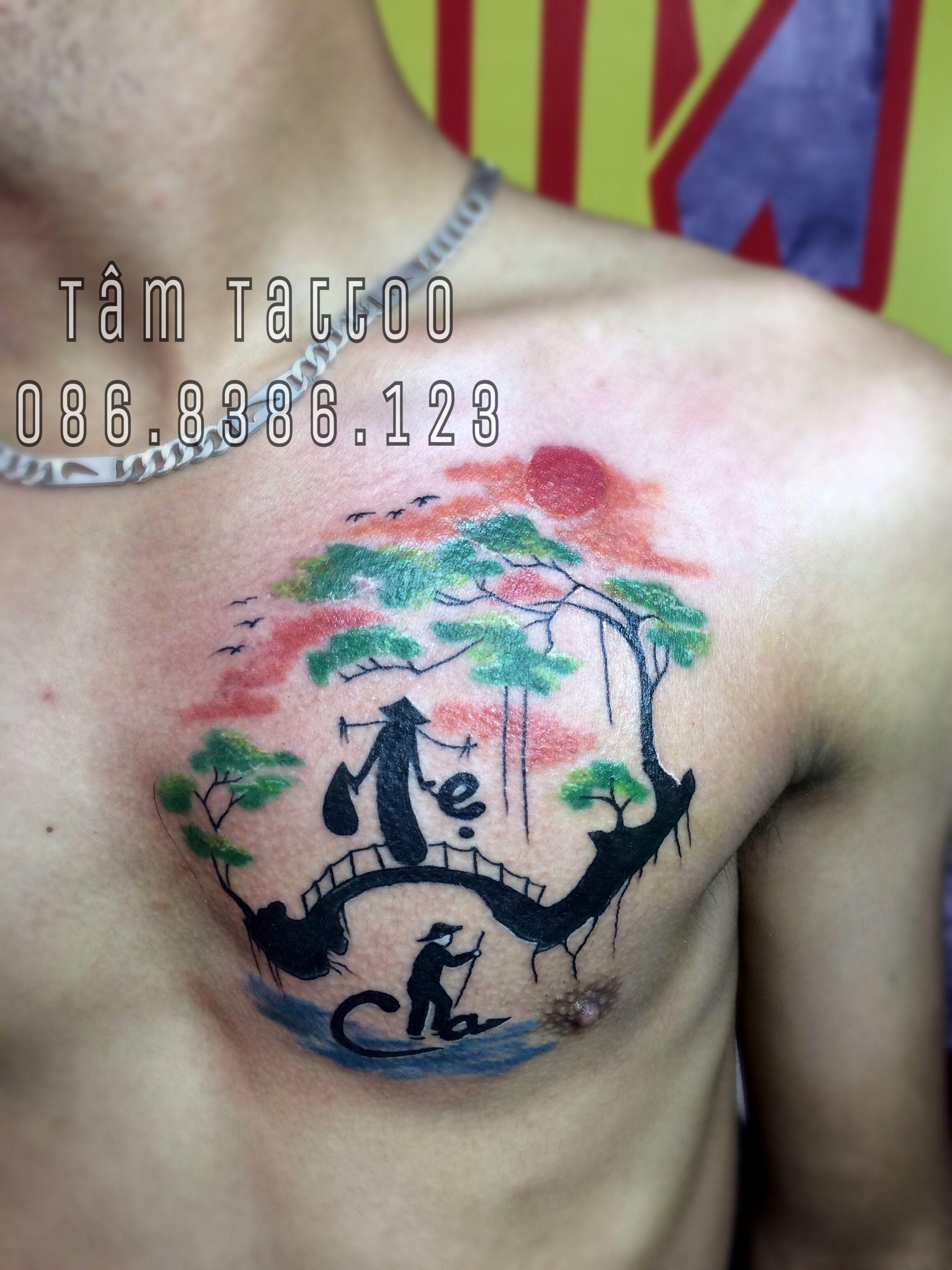 Hình Xăm Cha Mẹ Hình Xăm ý Nghĩa Hình Xăm Ngực đẹp Family Tattoo