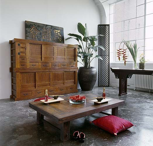 Ordinaire Japanese Inspired Living Room