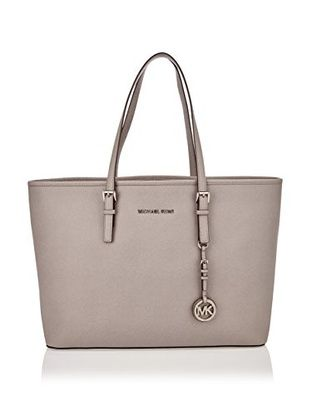 Michael Kors Schultertasche Jet Set Travel Md (hellgrau