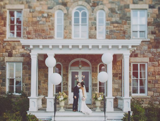 Vintage Wedding Venues | NY Wedding Venues: Intimate Weddings at Brecknock Hall