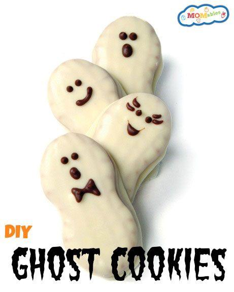 Halloween Ghost Cookies   Receta   Pinterest   Fotografía de comida ...