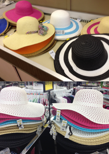 4 sun hats at Dollar General   Hammer s  ae68401667f1