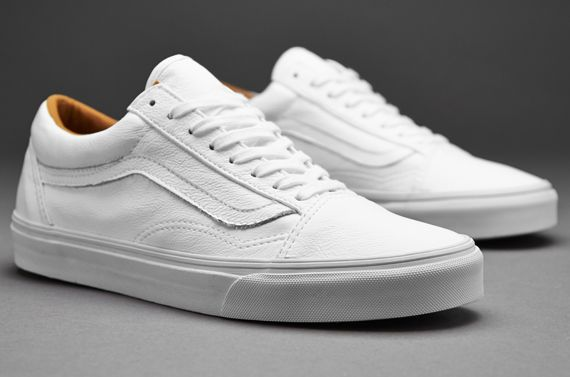 white old school vans