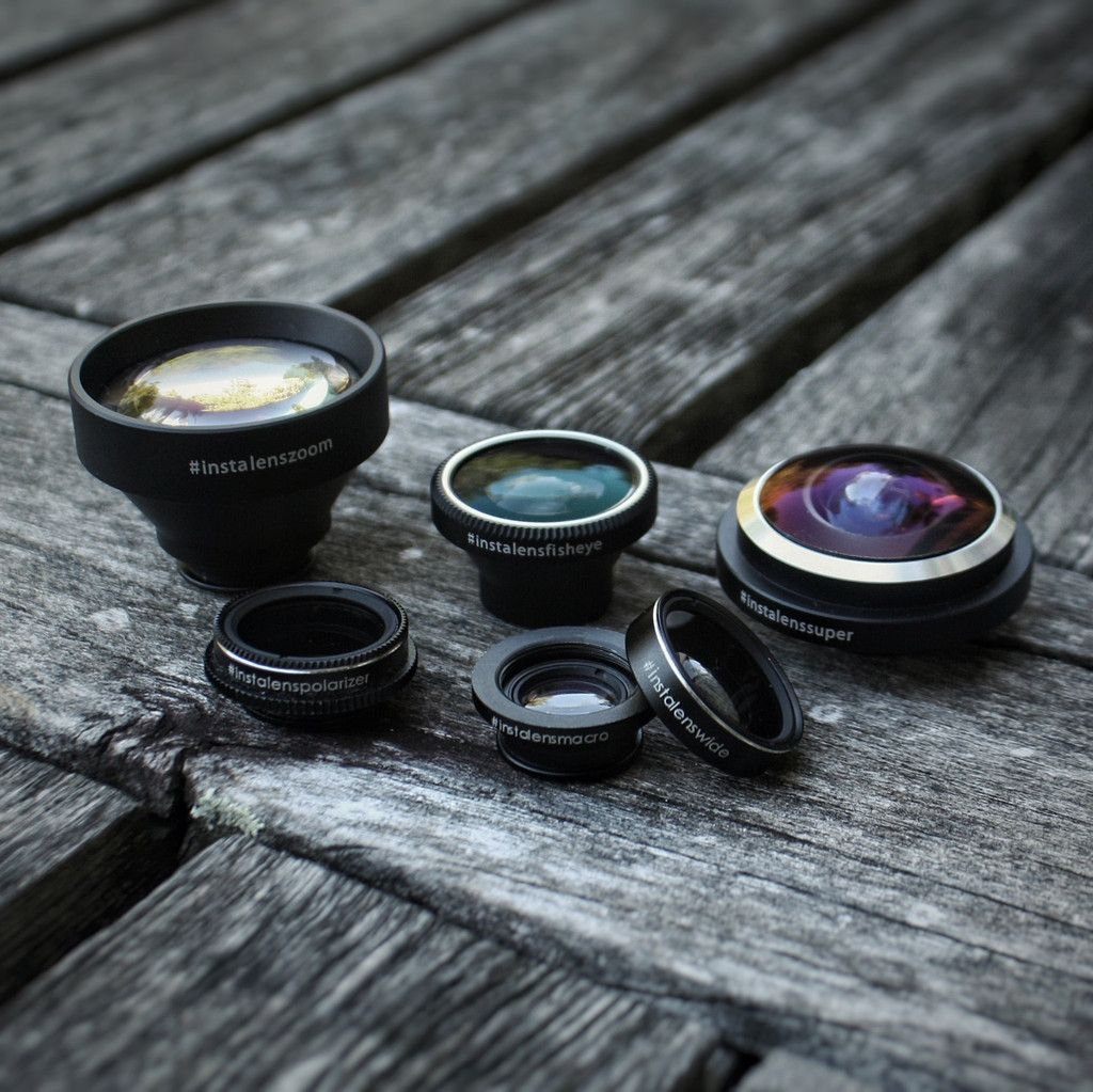 the instaLens complete mobile & smartphone photography lens set