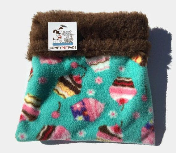 Cupcake Snuggle Sack, Hedgehog Cuddle Sack, Nesting Bed, Guinea Pig Bed, Hamster Bedding, Bonding Pouch, Carrier Pouch, Sugar Glider Pouch #FerretBedding #SmallAnimalBed #BondingPouch #SugarGliderPouch #SmallAnimalBedding #HamsterBedding #GuineaPigBed #HedgehogCuddleSack #CarrierPouch #CupcakeSnuggleSack