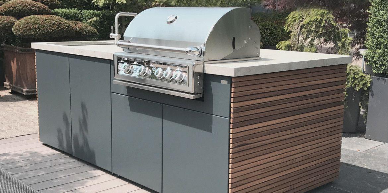 Cubic Outdoor Kitchen In 2020 Outdoor Kuche Terrassenrenovierung Herrenhaus
