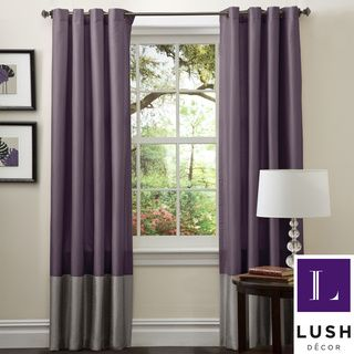 grey and purple living room curtains sets raymour flanigan lush decor prima 84 inch curtain panels set of 2 overstock com shopping great deals on