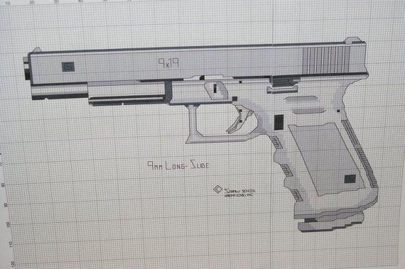 Пистолет VozWooden Glock-18 Пустынный Повстанец – купить на ... | 379x570