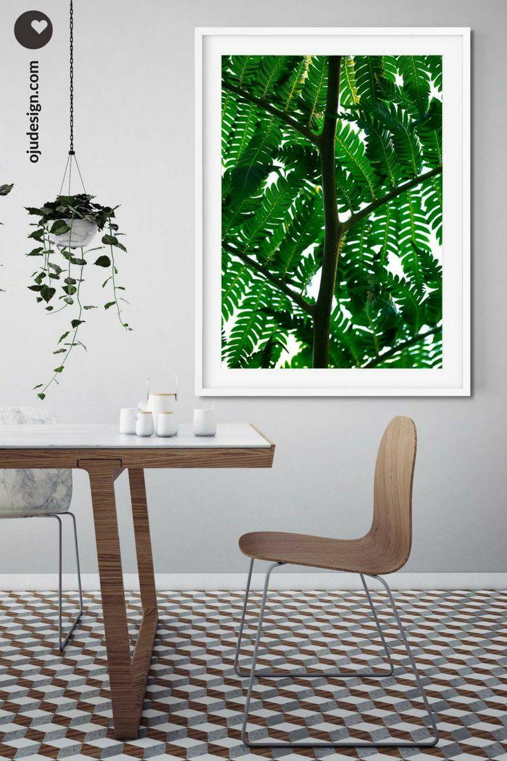 Botanical wall art rustic wall decor leaf print botanical prints