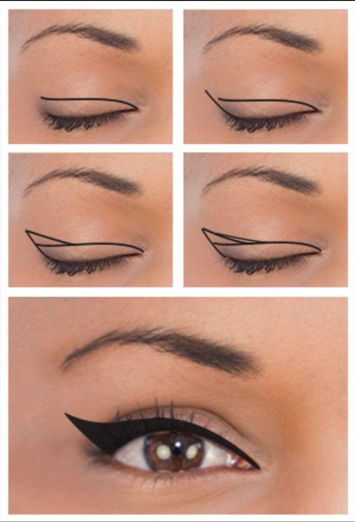 Liner for downturned eyes Eyeliner for downturned eyes
