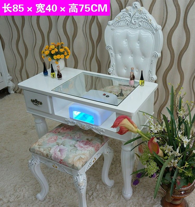 2 Meter MDF Manicure Tables Nail For Sale