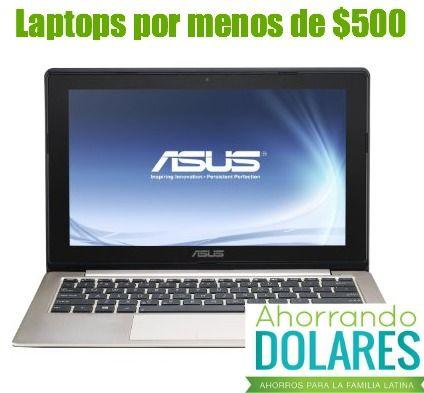 Laptops por menos de $500 con buenos comentarios y reseñas positivas.