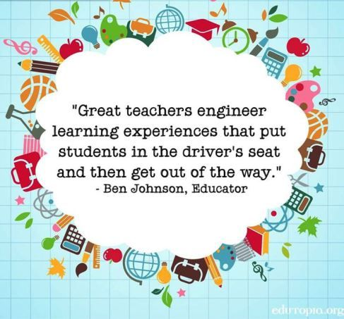 Let Students Drive Teaching Philosophy Teacher Quotes Teaching Philosophy Statement