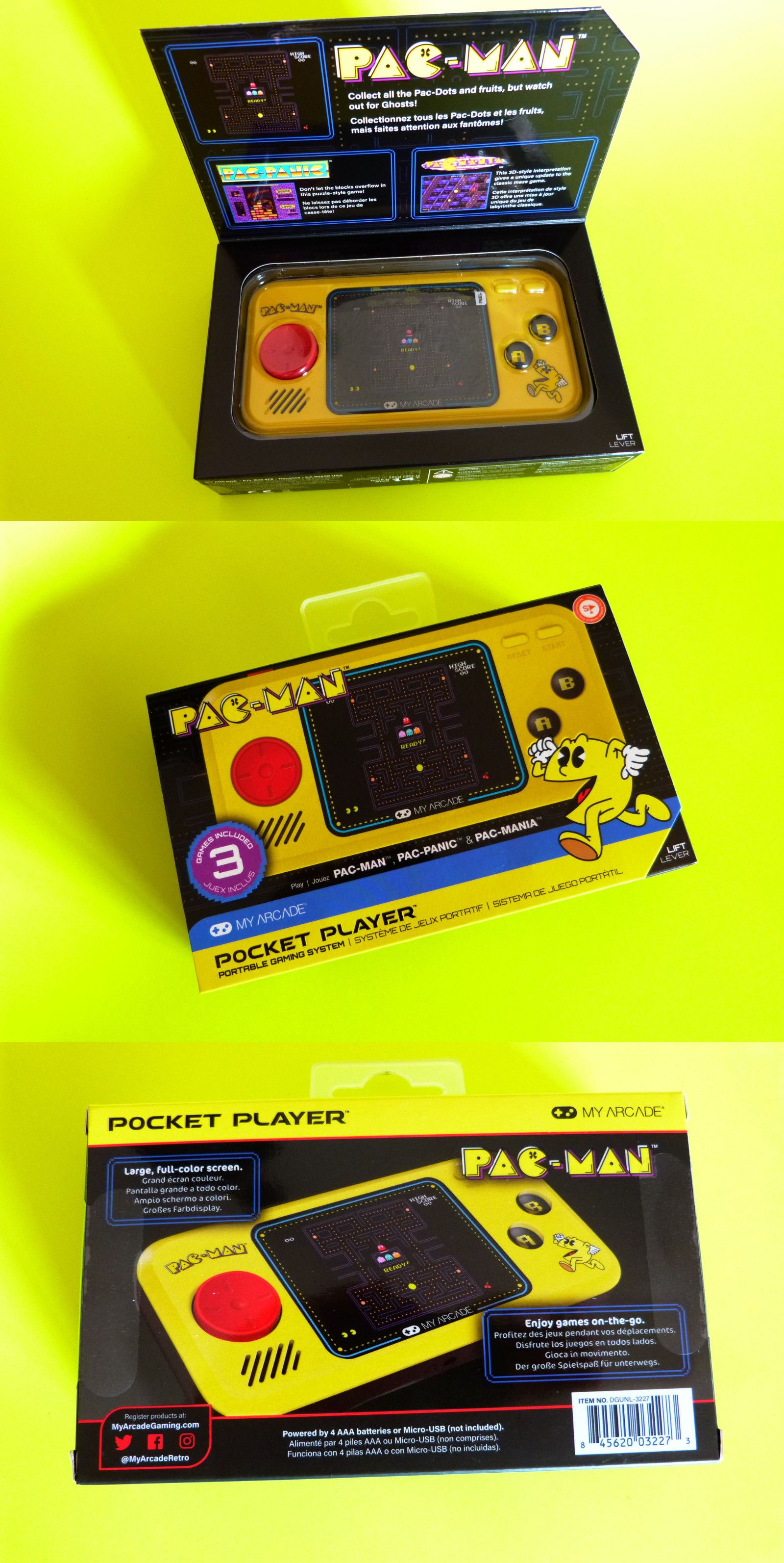Electronic Games 2540 New My Arcade Pacman Pocket Player