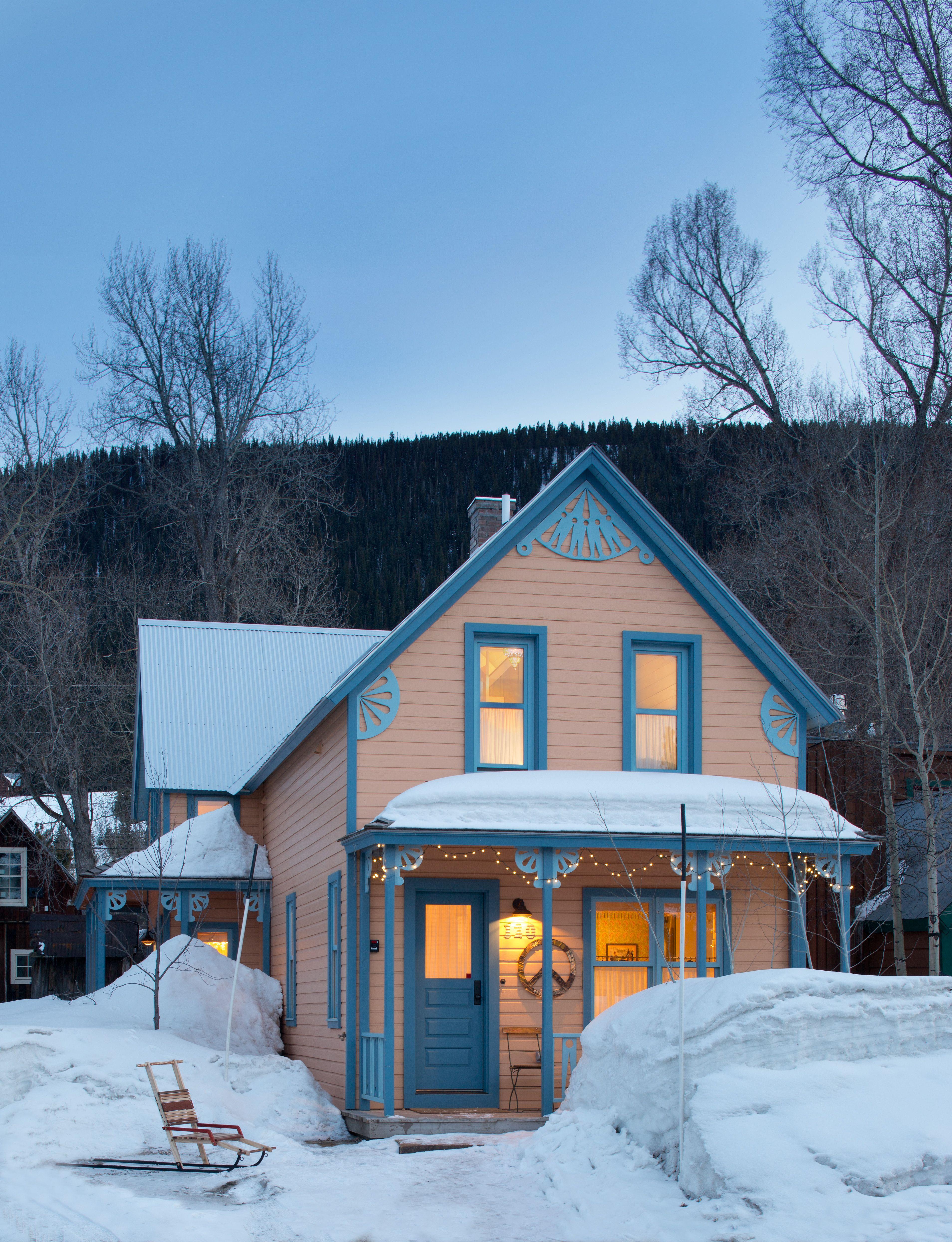 eclectic boho mountain home interior design by andrea schumacher