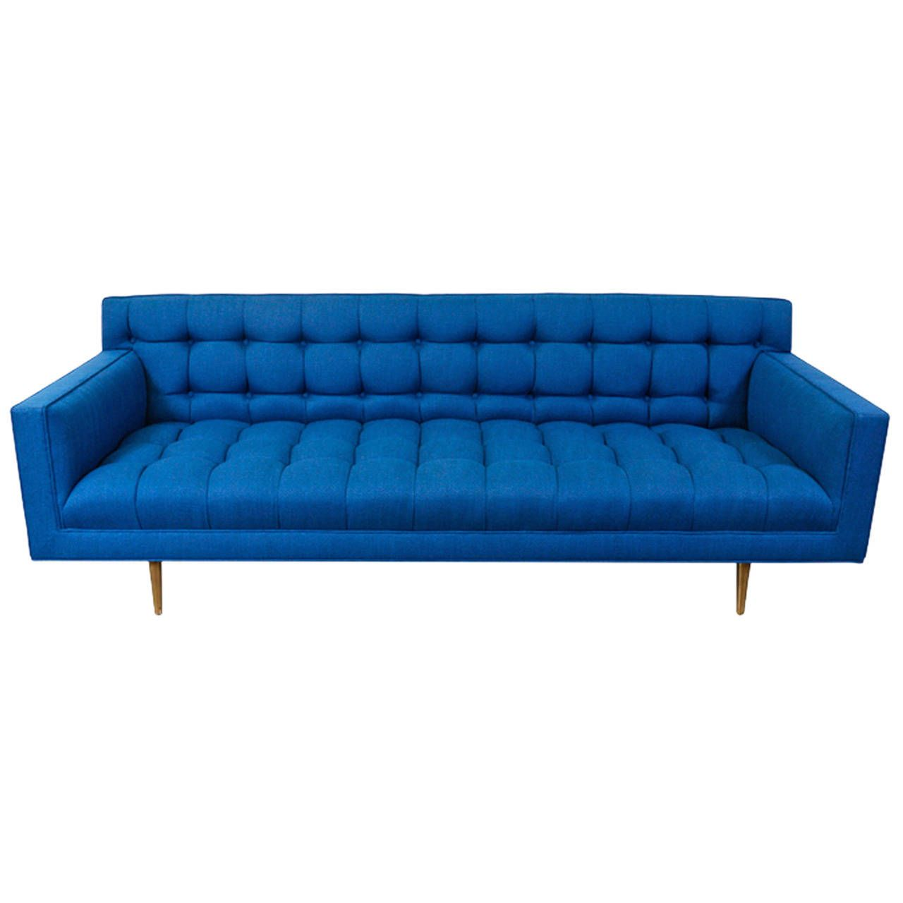 Sofa Vintage A Vendre Edward J Wormley Model 5136 Sofa With Brass Legs For Dunbar