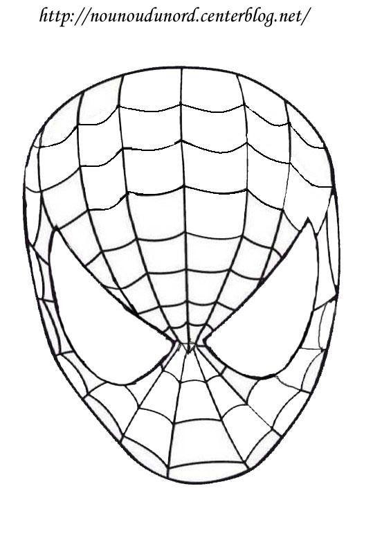 Masque spiderman imprimer imprimer le masque mardi gras - Masque de carnaval a imprimer ...