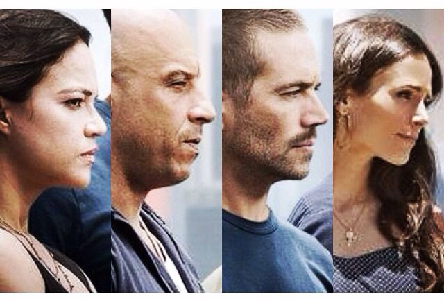 Letty, Dom, Brian and Mia- Furious 7