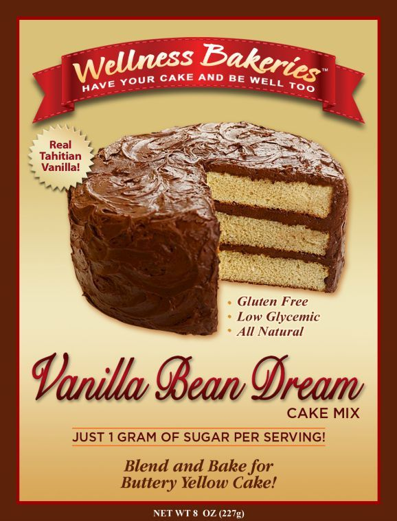 Create A Classic Yellow Birthday Cake Festive Rum Or Boston Cream Pie With Our Low Glycemic Gluten Free Vanilla Bean Dream Mix