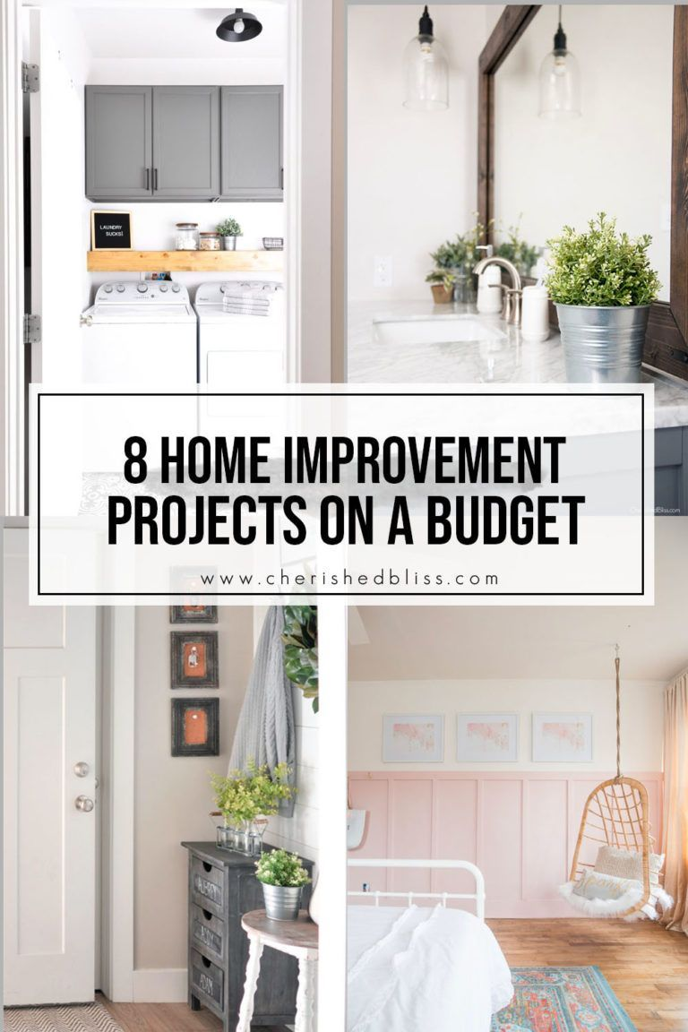 Budget DIY Home improvement projects 8 DIY Home