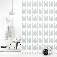 Roomblush behang wallpaper botanica grey behangpapier woonkamer ...