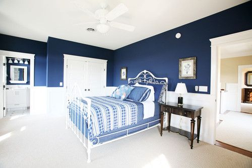 Guest bedroom blue! destin beach house pinterest
