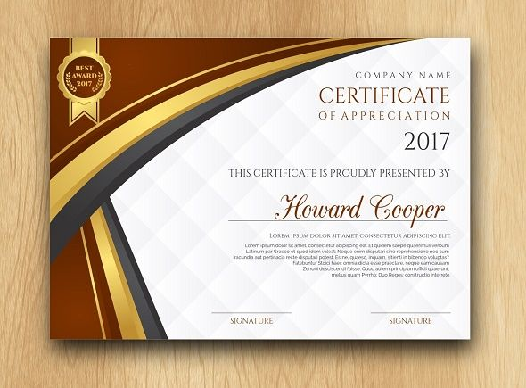 45+ Best Certificate & Diploma Templates - PSD EPS AI Download