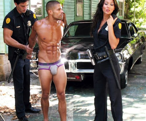 Parole Model Jared Prudoff Smith Hand-Cuffs Anthony Gallo
