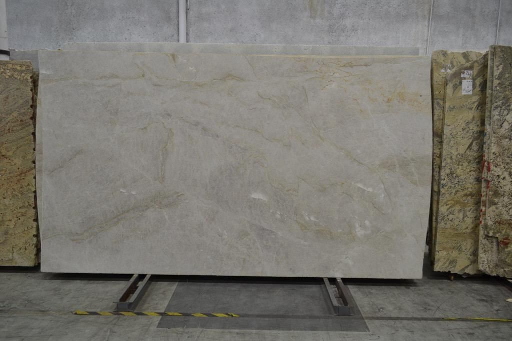 Mother Of Pearl Quartzite Collection Originated From Italy In Cream Color,  Exotic Quality From Armina