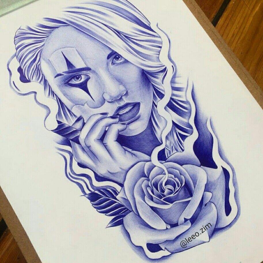 Tattoo Ideas Chicano: CHARRA ARTE Chicano T Tatuagem Chicana Desenho