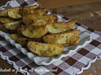 Gli stick di zucchine al forno alle erbe aromatiche sono un modo sfizioso di servire le zucchine per un antipasto o un contorno vegetariano. Ricetta facile.