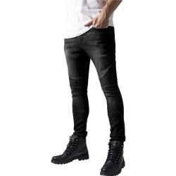 Photo of Urban Classics Herren Skinny Fit Hose Jeans Skinny Ripped Stretch Denim Pantstb1436 grey Slim Fit Bi