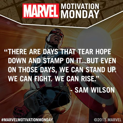 Marvel Motivation Monday | Quotes | Marvel, Marvel quotes, Marvel