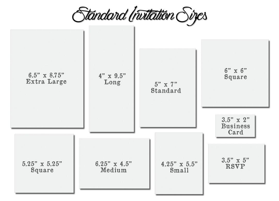 Birthday Invitation Size Invitation Templates Free In Wedding Card Size Template Wedding Invitation Size Standard Wedding Invitation Size Invitation Sizes